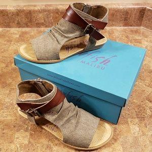 New Blowfish Sandals - Size 7